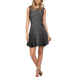 SAM EDELMAN Selby Jacquard Fit And Flare Dress